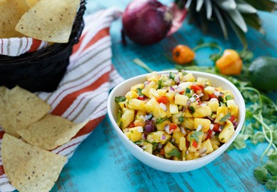 Chris - Sharedappetite - Pineapple Harbanero Salsa 3