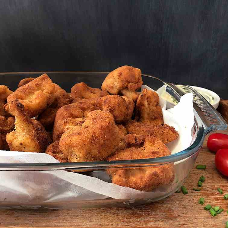 Fried Cauliflower Florets