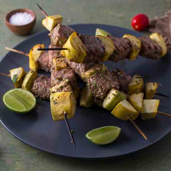 Lime Coriander Marinade with Grilled Tuna