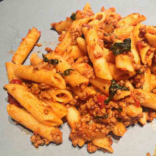 Penne with Meatsauce
