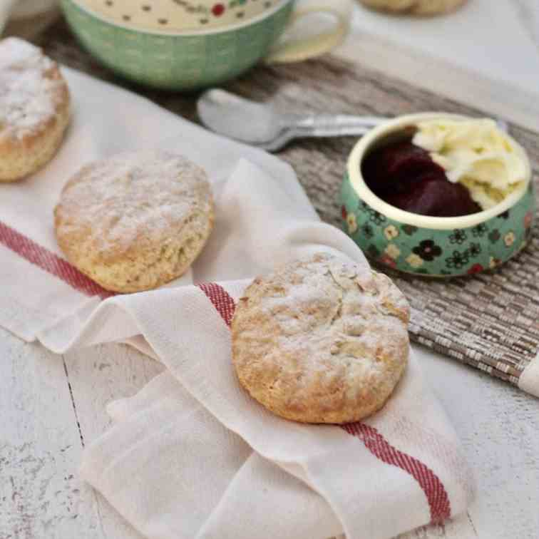Vegan English Scones