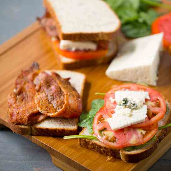 BBQ Blue Cheese BLT