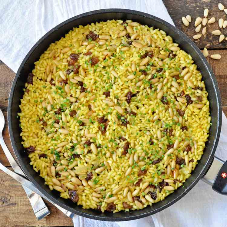 Spanish Saffron Rice