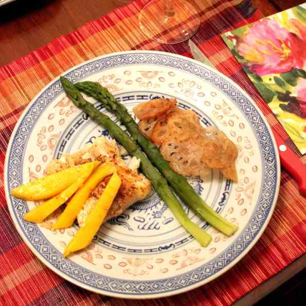 Cod Fillet with Mango
