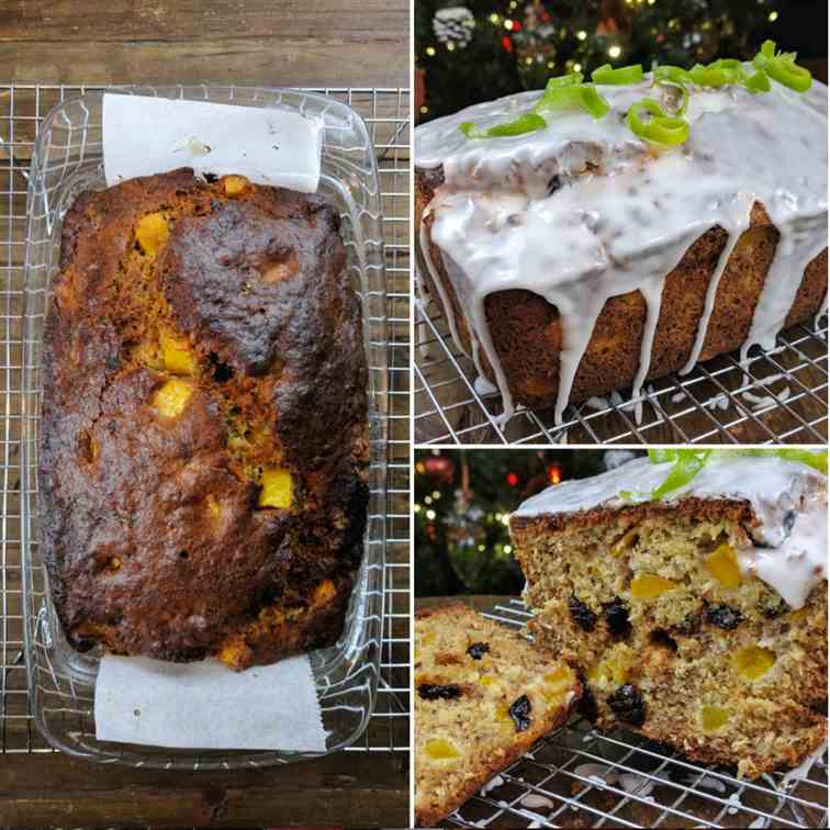 Mango And Cranberry Banana Bread