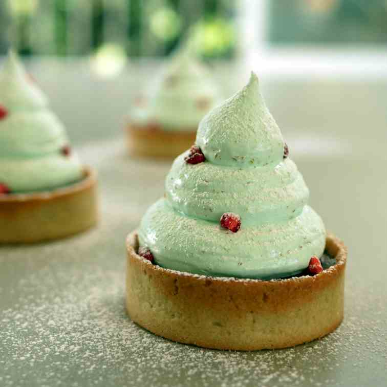 Christmas Tree Tartlets