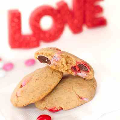 Healthy Valentine's Day Cookies