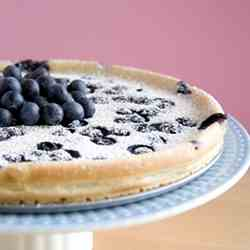 Blueberry Flaugnarde