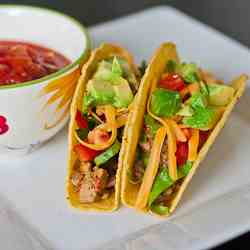 Yummy Turkey Tacos