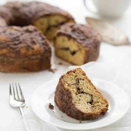 Chocolate Swirl Coffee Cake