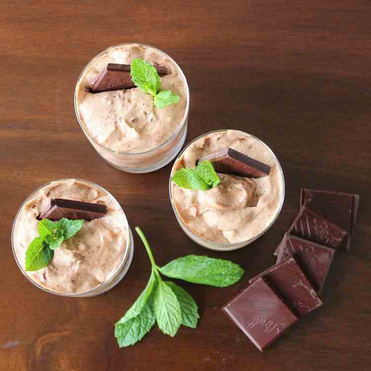 Mint Chocolate Mousse
