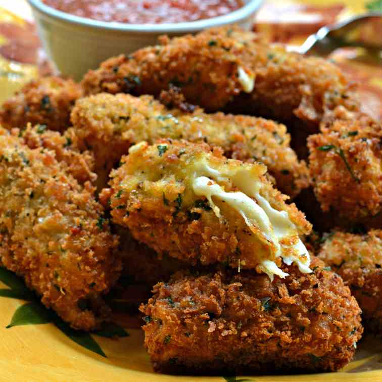 Panko Breaded Mozzarella Sticks