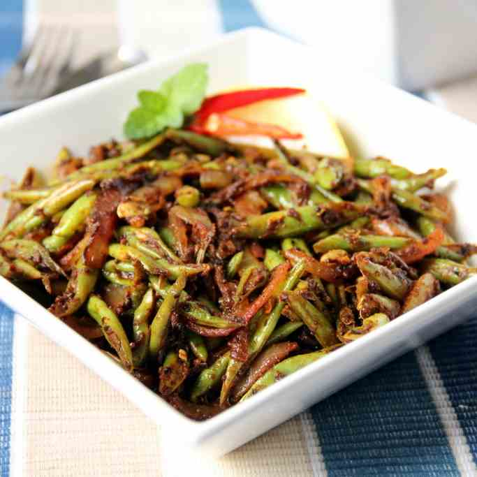 Green Beans Spicy Stir-fry