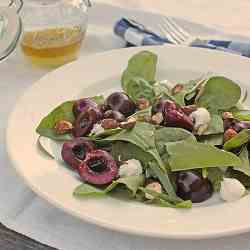 Cherry and Sorrel Salad