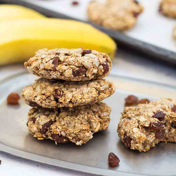 Healthy Instant Oatmeal Cookies