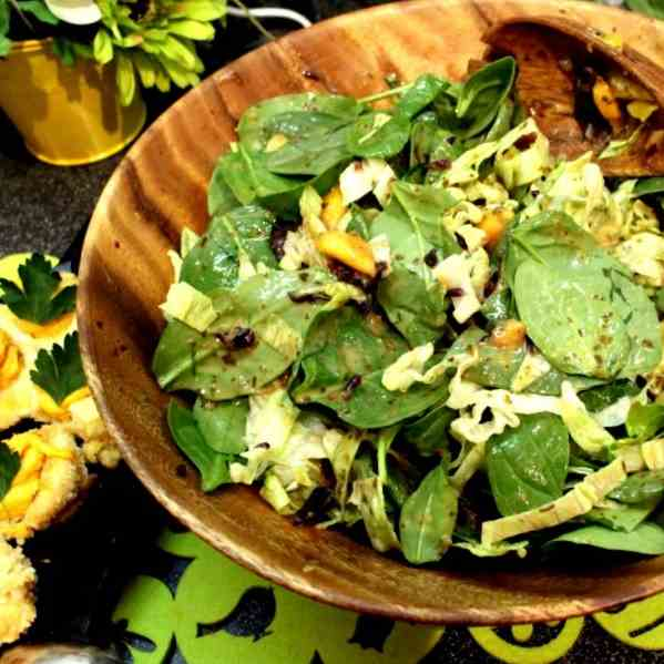 Orange, Mango and Spinach Salad