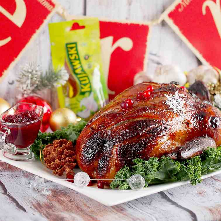 Christmas Roast Duck with Honey