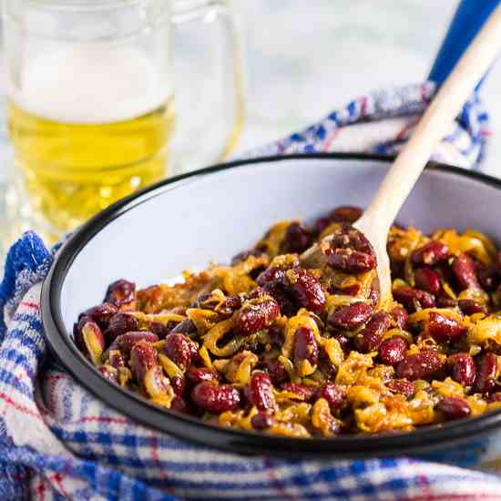Macedonian Baked Beans- Quick Version