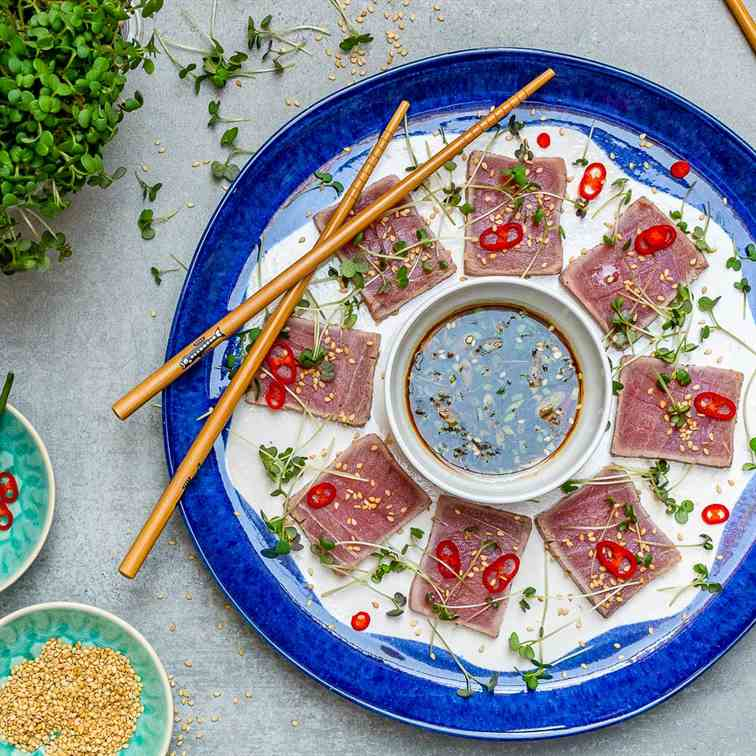 Seared Tuna Tataki Recipe