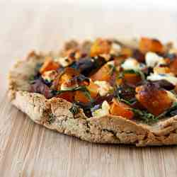 Caramelized Onion & Roasted Butternut Pizza