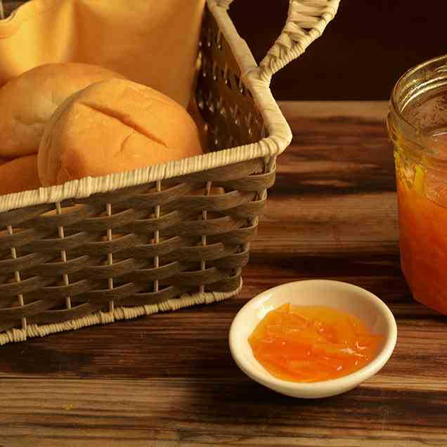 Simple 3 Ingredient Orange Marmalade
