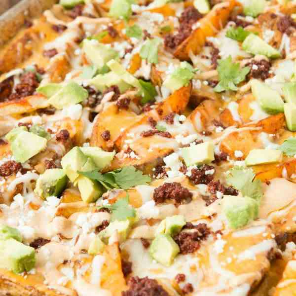 Loaded Chorizo Potatoes