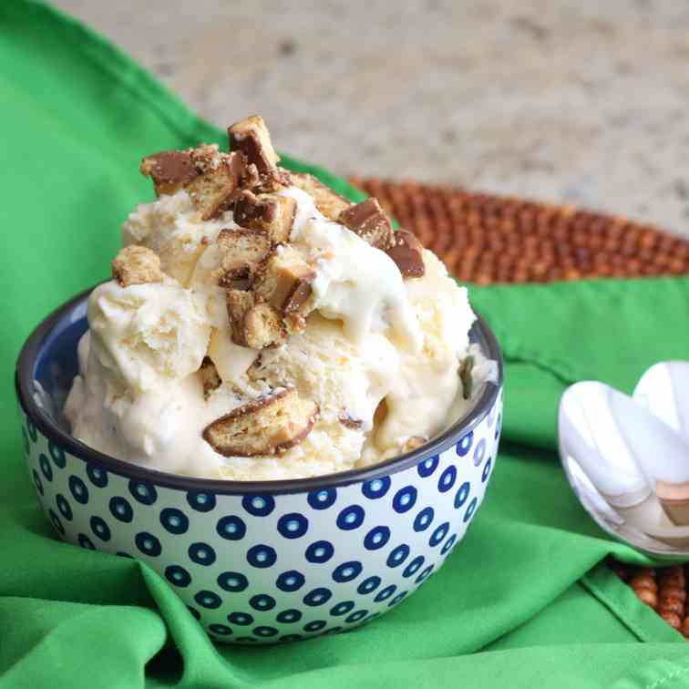 No-Churn Cookie Ice Cream