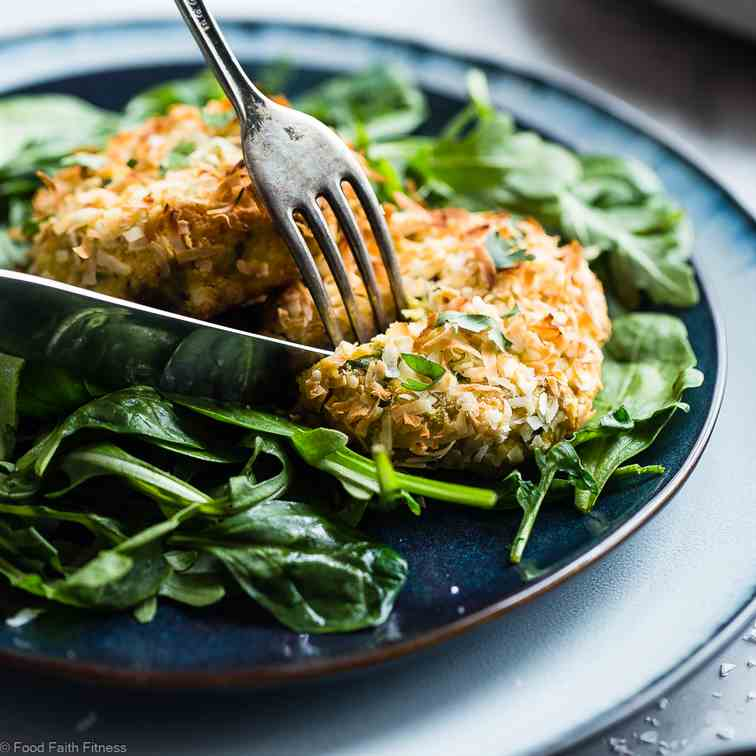 Air Fryer Low Carb Salmon Cakes