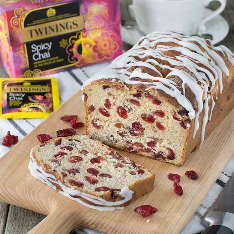 Chai Tea - Cranberry Iced Loaf