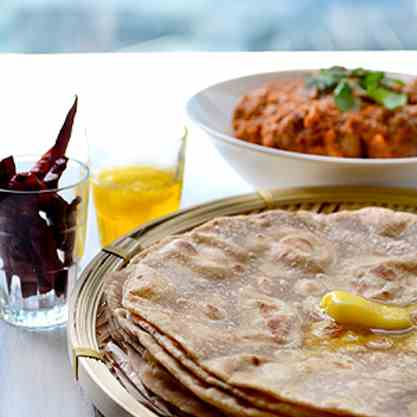 soft and delicious ghee rotis