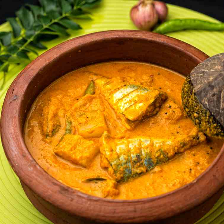 Mackerel Curry - Indian Style