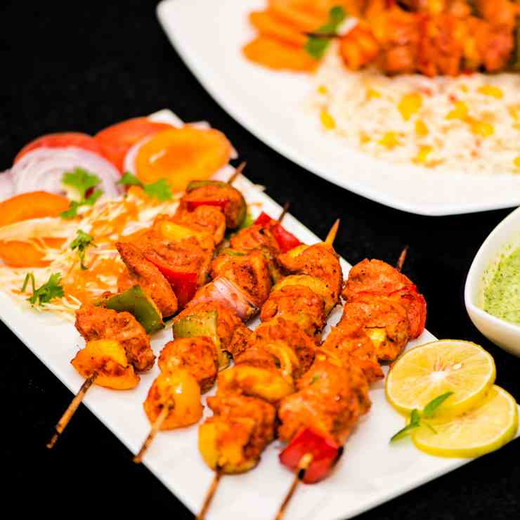 Easy Indian Chicken Kebab