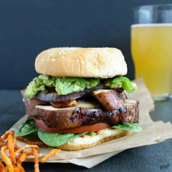 Loaded Zesty Portobello Burger