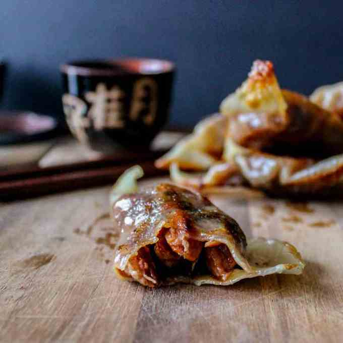 Chinese BBQ Pork (Cha Siu) Dumplings