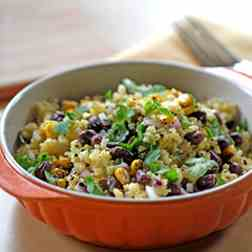 Millet and Aduki Bean Salad
