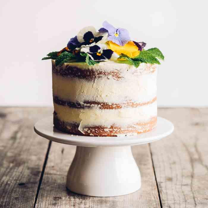 Triple Lemon Layer Cake