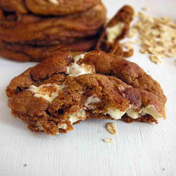 Snickerdoodle White Chocolate Coconut Oil