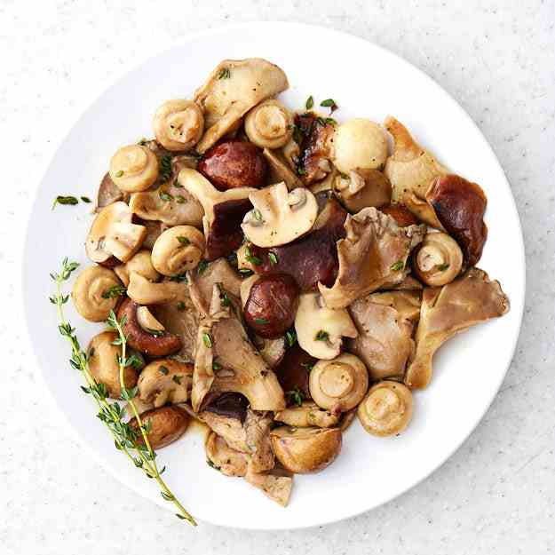 Sous Vide Mushrooms