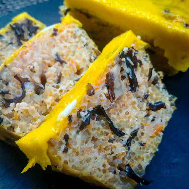Vegetarian Vietnamese Egg Meatloaf