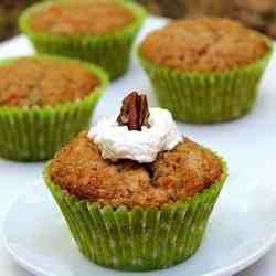 (Almost) Carrot Cake Muffins