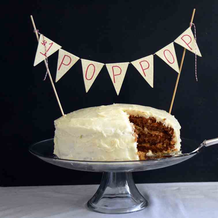 The BEST EVER Carrot Cake Recipe
