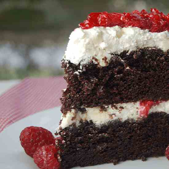 Wicked Chocolate Cake