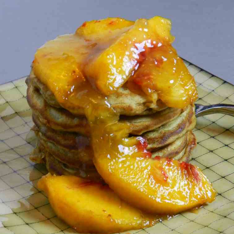 Spicy Oatmeal Pancakes
