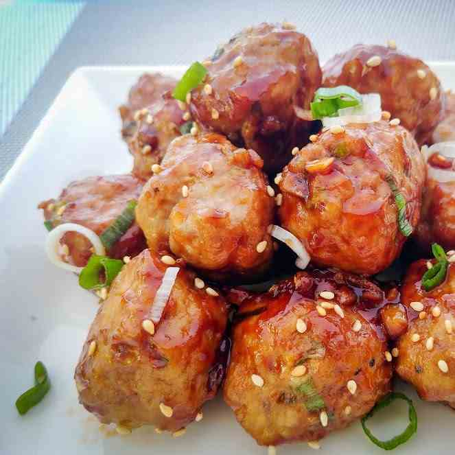 Peking Meatballs