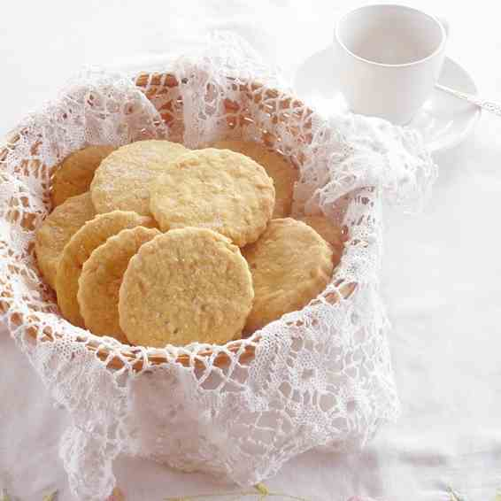 Carrot & Orange Shortbread