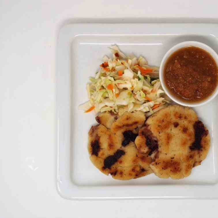 Bean and Cheese Pupusas