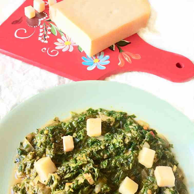 All-seasons lemongrass spinach