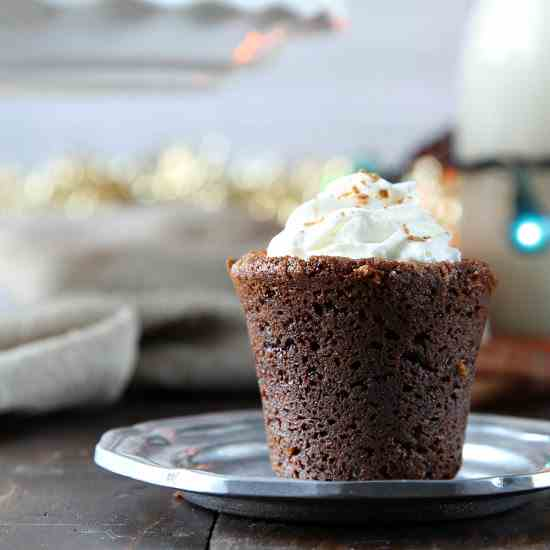 Gingerbread Cookie Cups