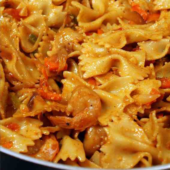 Spicy Pasta Indian Style Recipe
