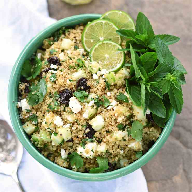 Rice Cooker Quinoa Salad